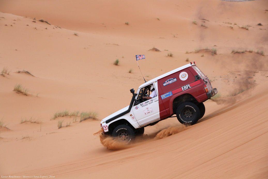 Etape 3 du Morocco Sand Express notre nouveau rallye raid du maroc