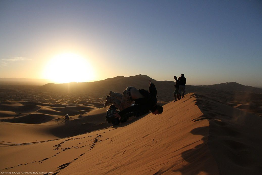 Les moments sympas et images insolites du Morocco Sand Express