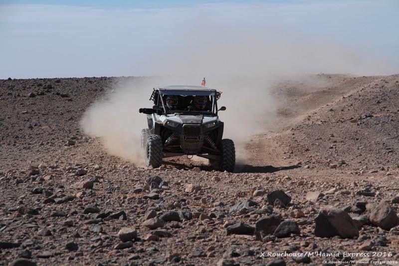 Etape 1: Les mystères de l'oued, rallye raid au maroc
