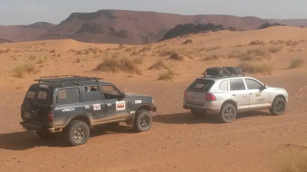 Dernière ligne droite avant le Morocco Sand Express 4è édition, rallye raid Maroc Merzouga