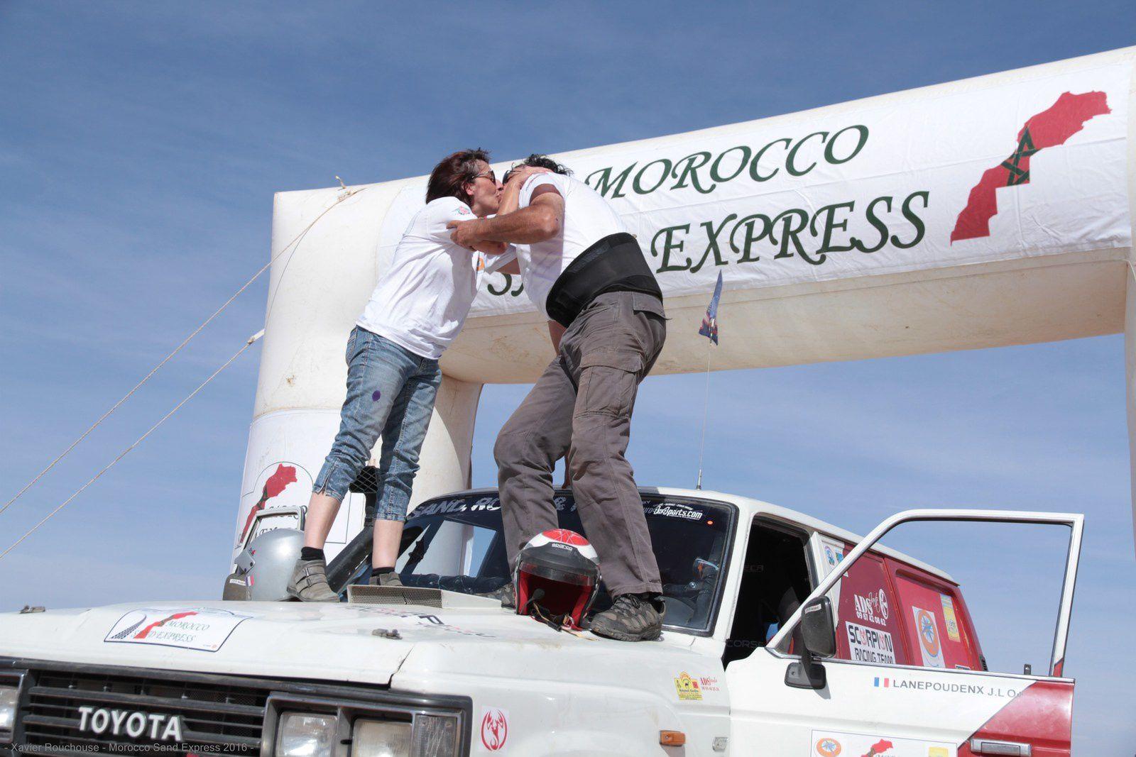 Le finish de la 4è édition du Morocco Sand Express 2016