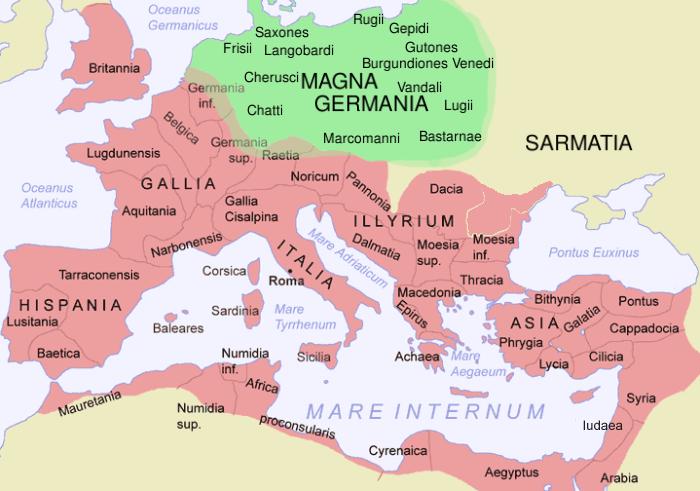 [option latin] lingua latina per se illustrata_ imperium Romanum
