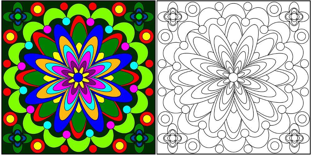 Coloriages niveau 3 (difficiles)