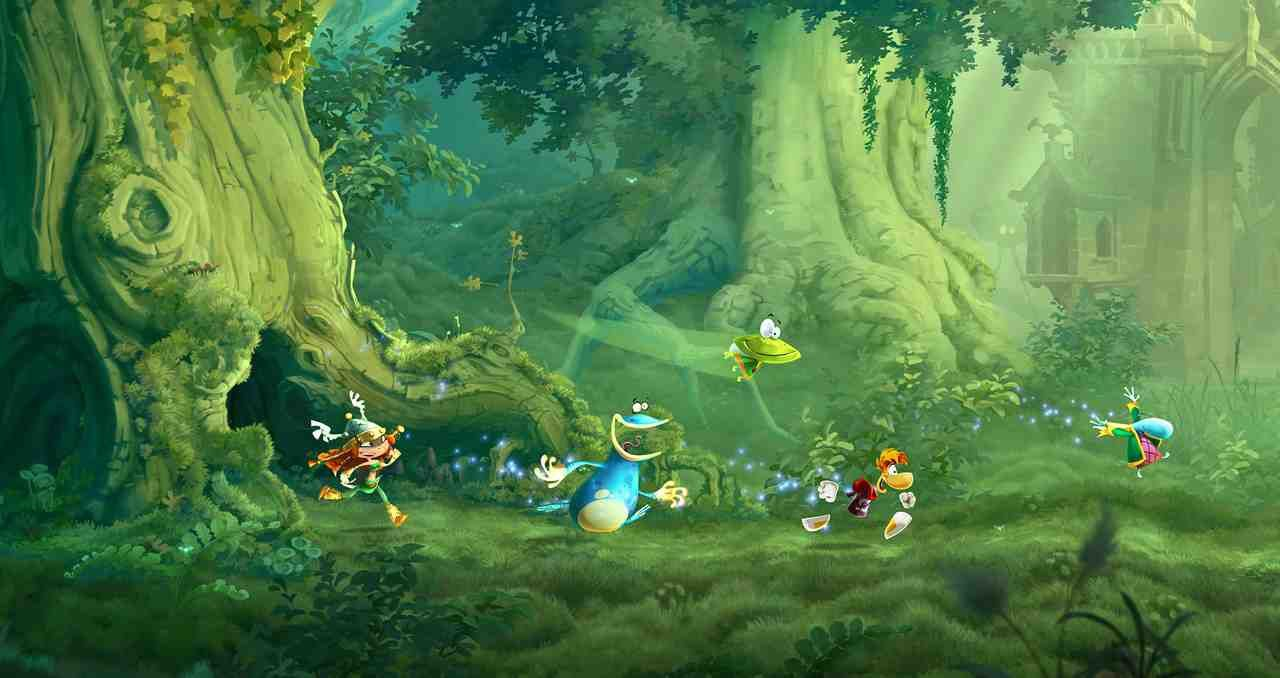 Un Jour, Un Jeu #123 : Démo de Rayman Legends - Comparatif entre la version Wii U et la version PS3/360