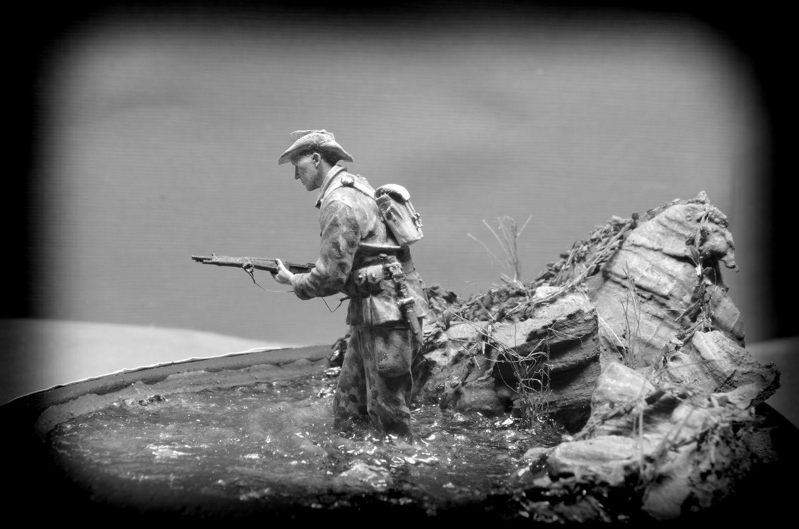 Légionnaire 1er B.E.P. - Indochine 1950