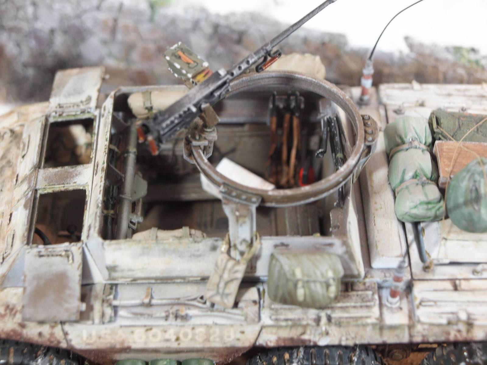 La M20 Italeri en livrée hivernale de Pascal