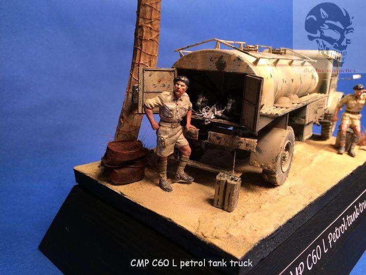 CMP C60L Petrol tank