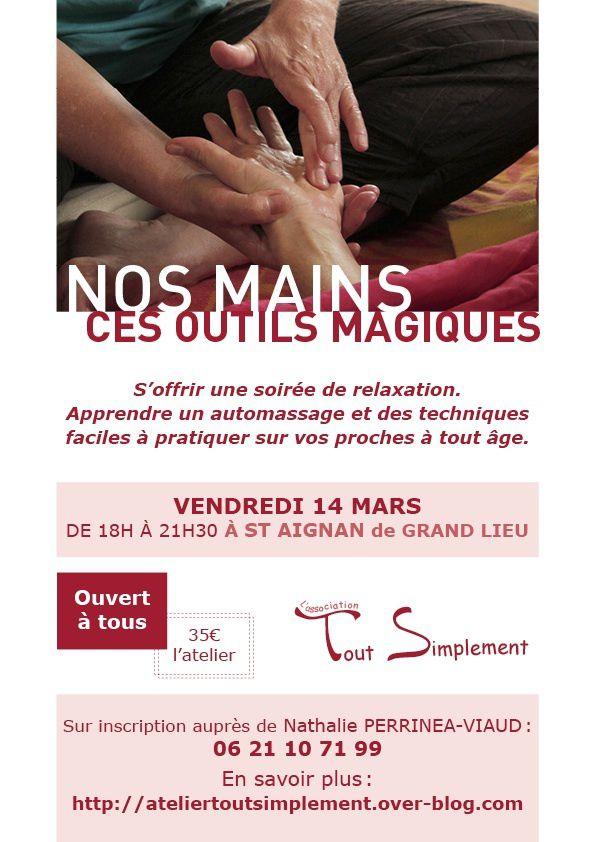 Tout Simplement à Saint Aignan de Grand Lieu le 14 mars de 18 à 21h30