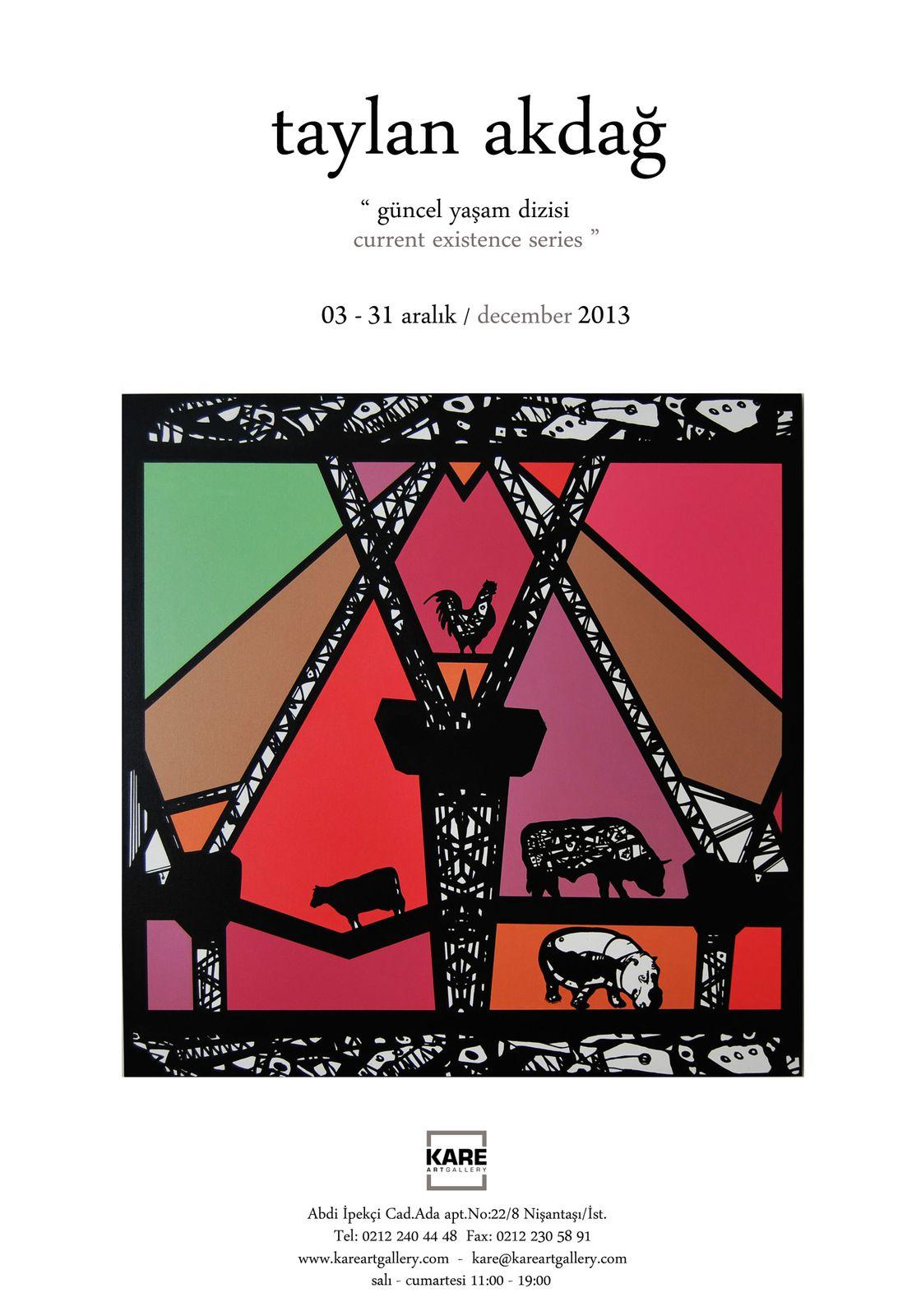 Sergi : ''Güncel Yaşam Dizisi'', Taylan Akdağ - Exhibition