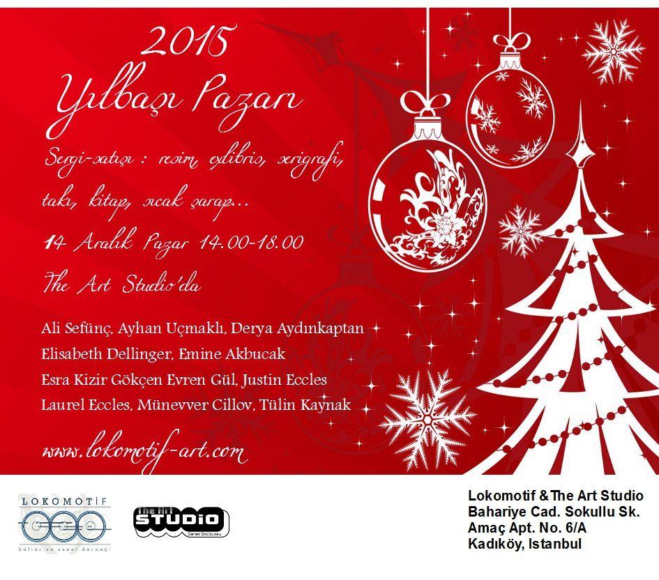 Lokomotif'in Yılbaşı Pazarı - Expo vente de Noel