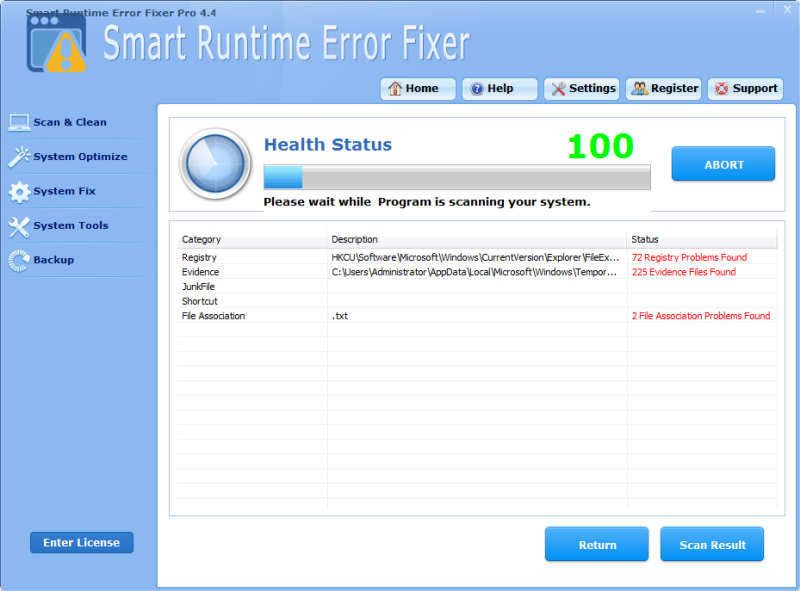 Fixing Runtime Errors