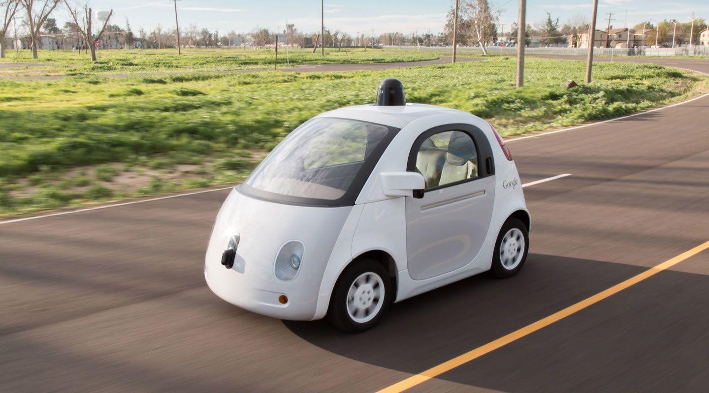 Visuel d'une Google Car
