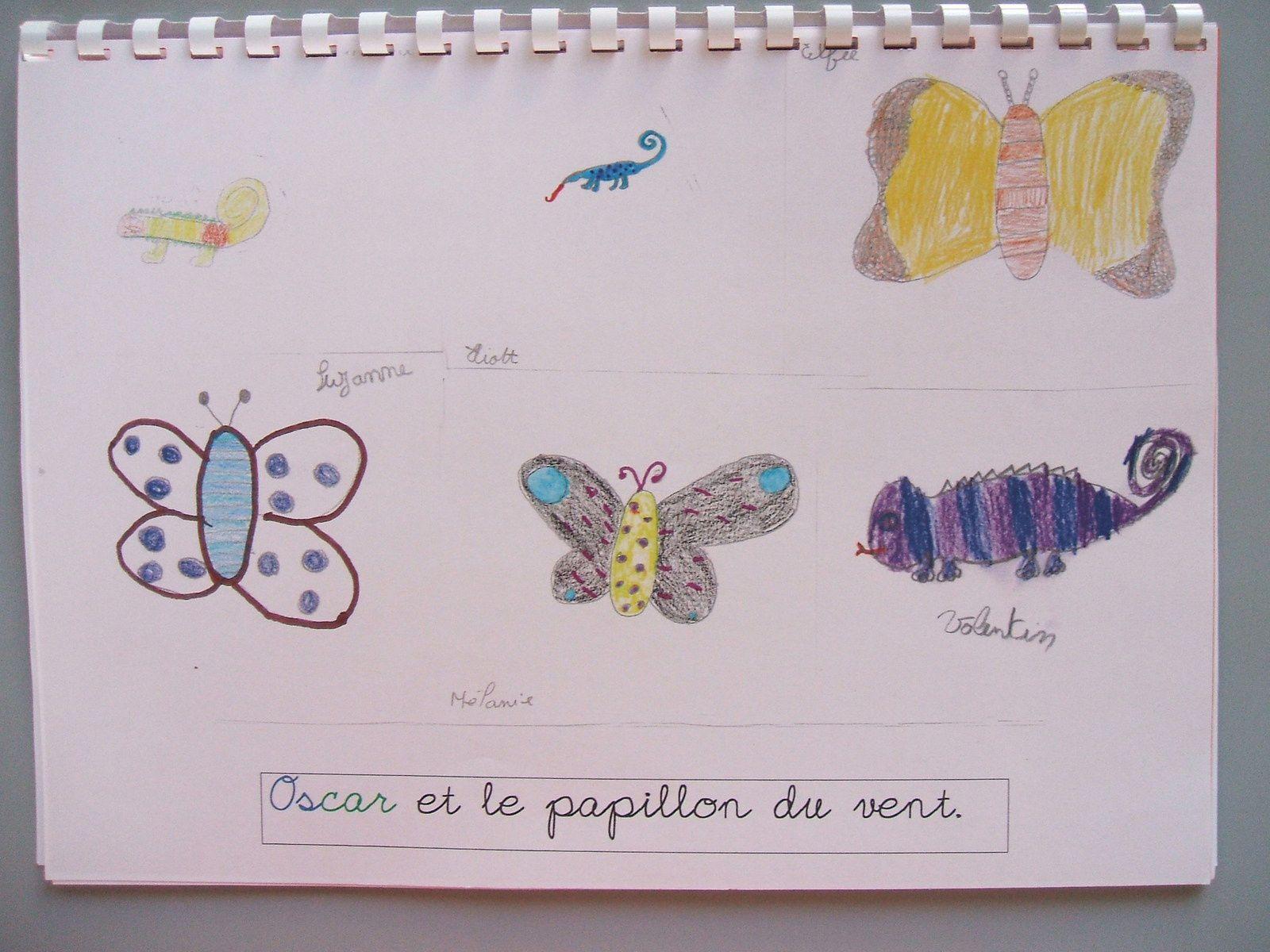 Livres réalisés par les élèves de l'école de Boisragon