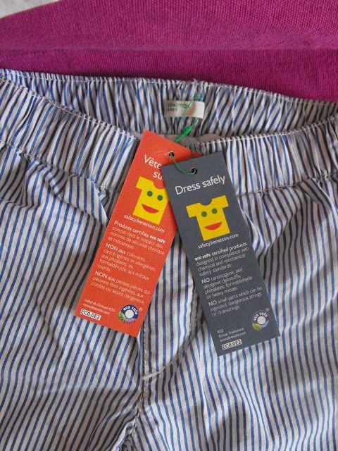 Benetton baby et leurs vêtements certifiés Eco Safe