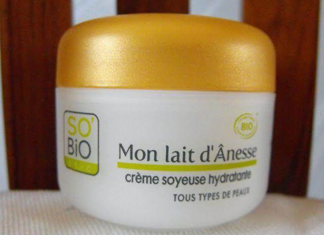 Crème soyeuse hydratante Mon lait d'Anesse So'Bio étic