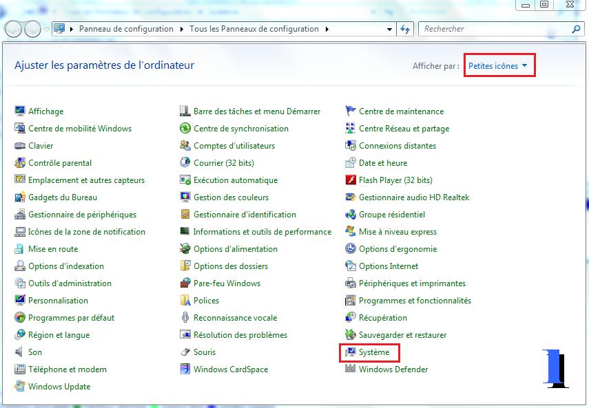 Windows : Point de restauration Fichiers