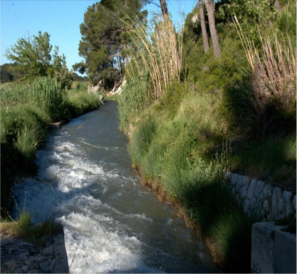 Le canal d'irrigation de la Vallée des Baux fête ses 100 ans
