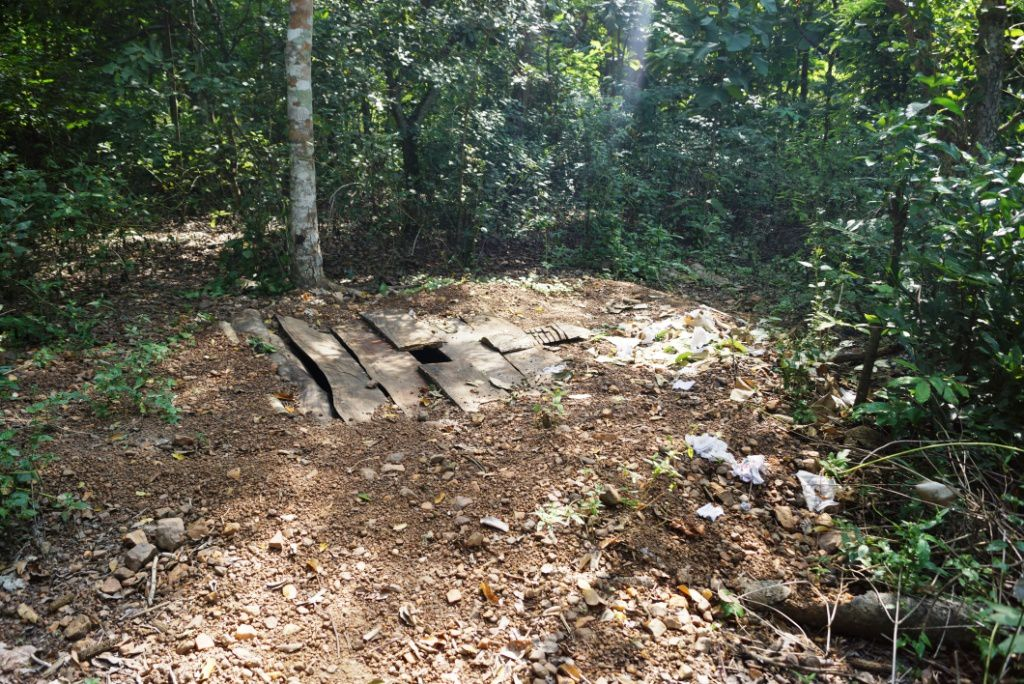 Les WC à Edouwossi-Copé