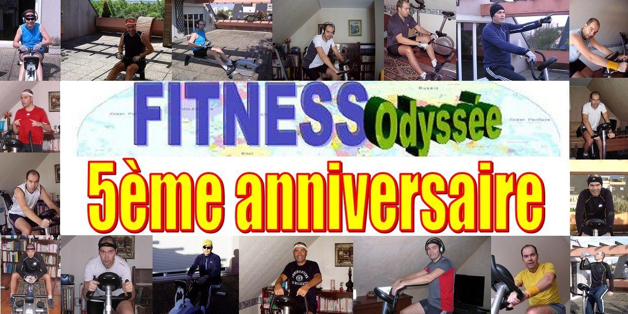 Fitness Odyssée : Etape N°472 (Océan Pacifique)