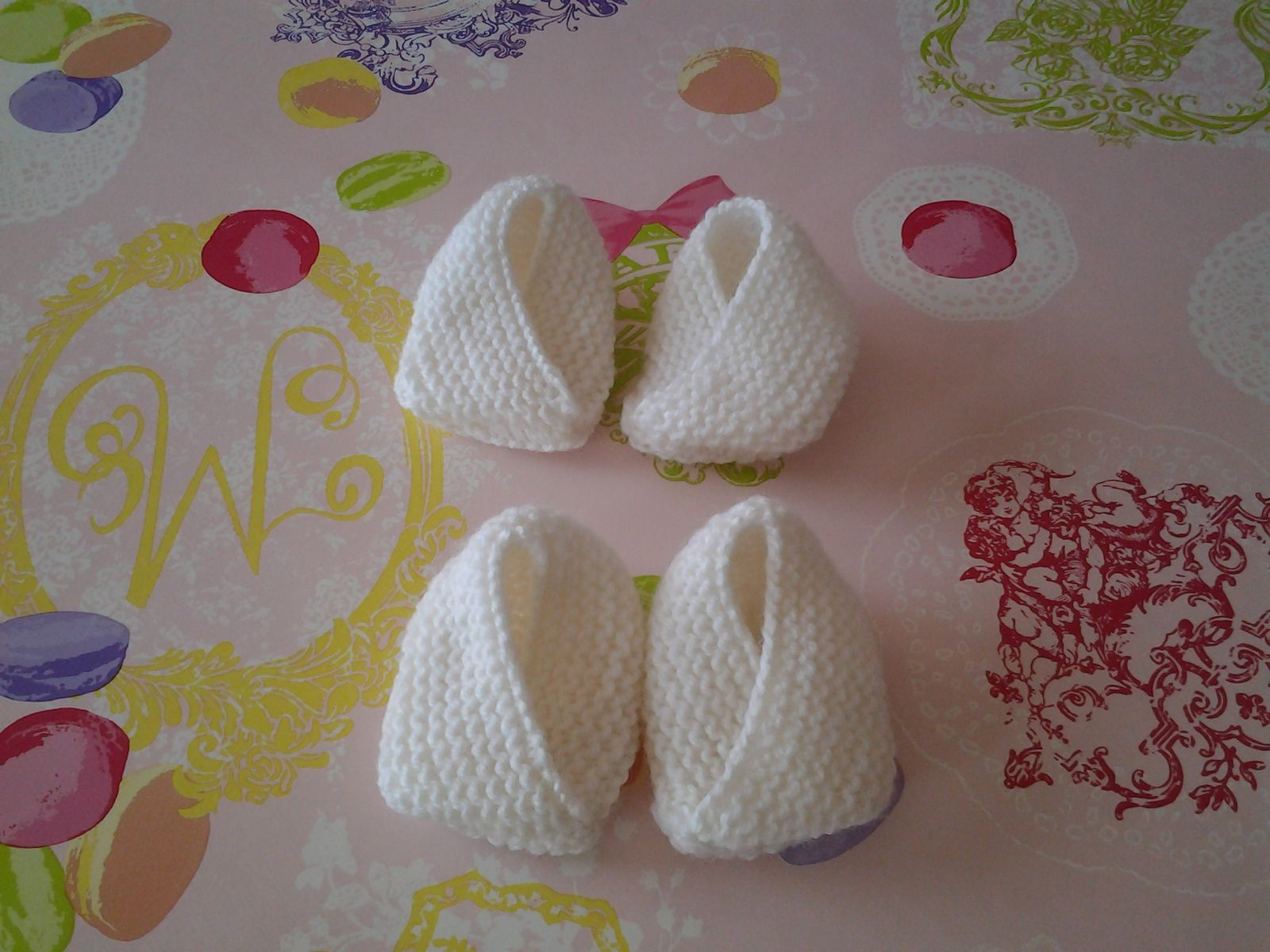 voici mes petits chaussons
