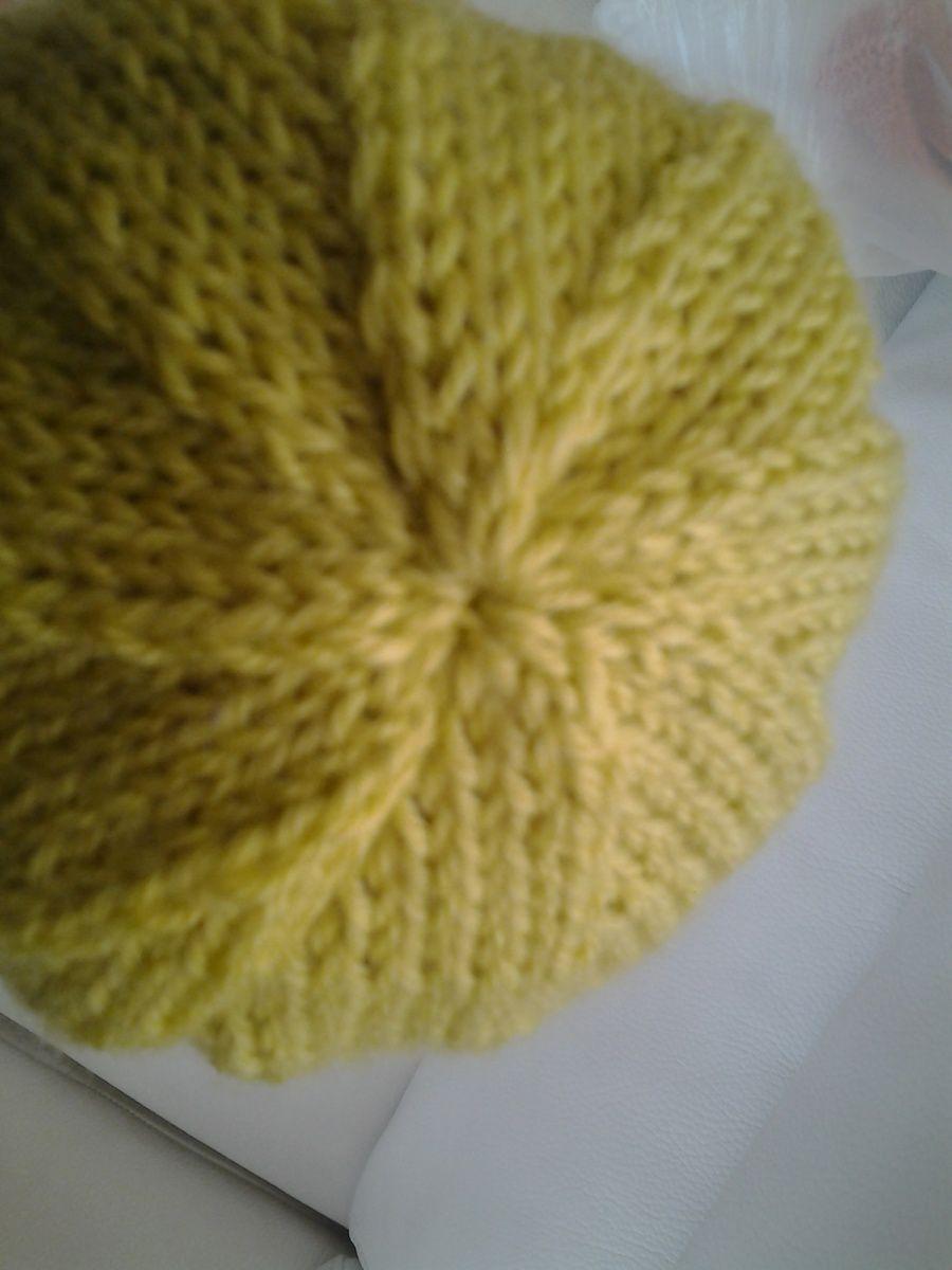 détail de la spirale sur le bonnet