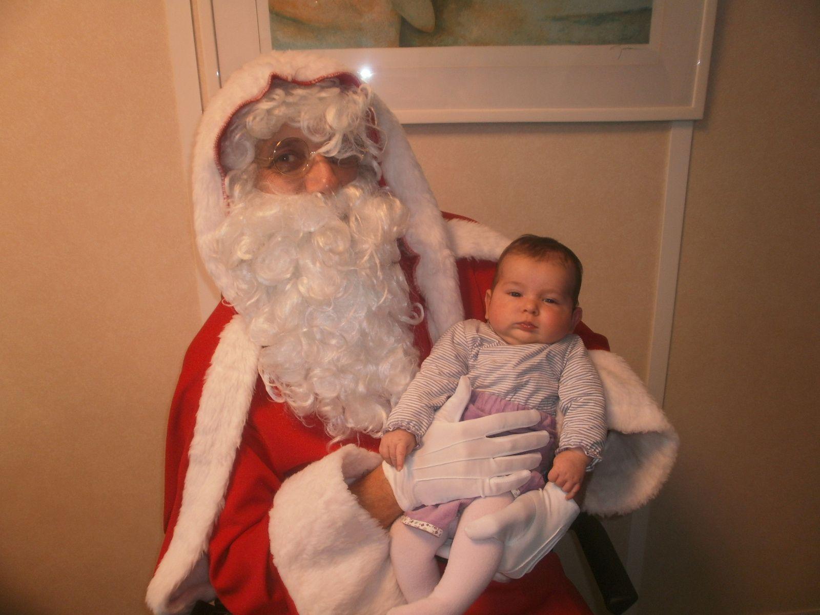 Loélie et Papa Noël