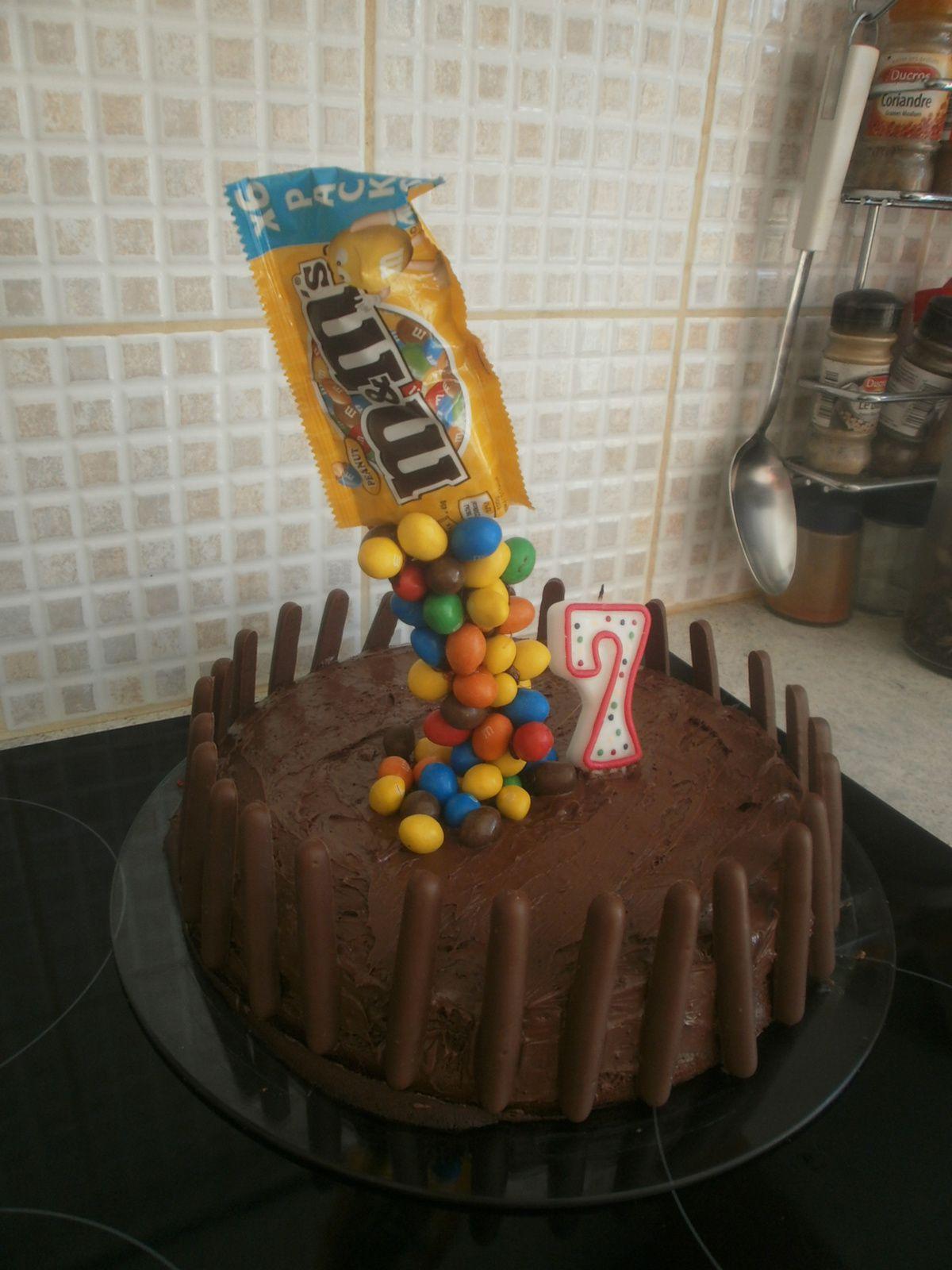Gâteau en lévitation