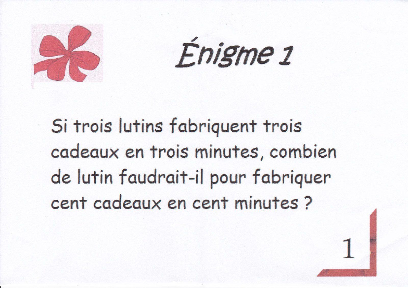 Enigme 1