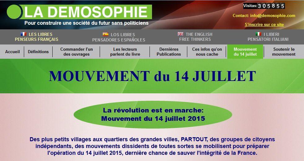 Eric Fiorile et le mouvement du 14 juillet.