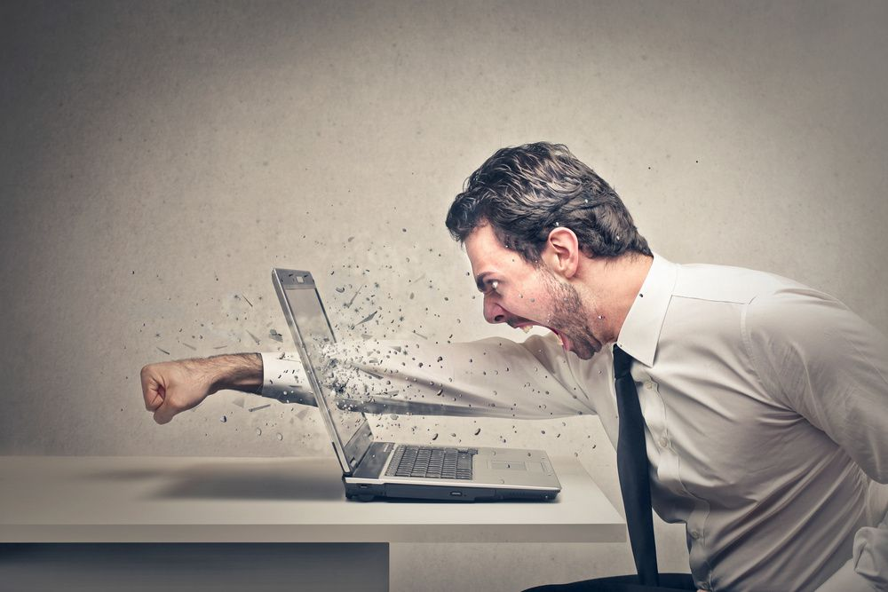 Rage against the machine?...  ©Shutterstock - www.shutterstock.com/fr/