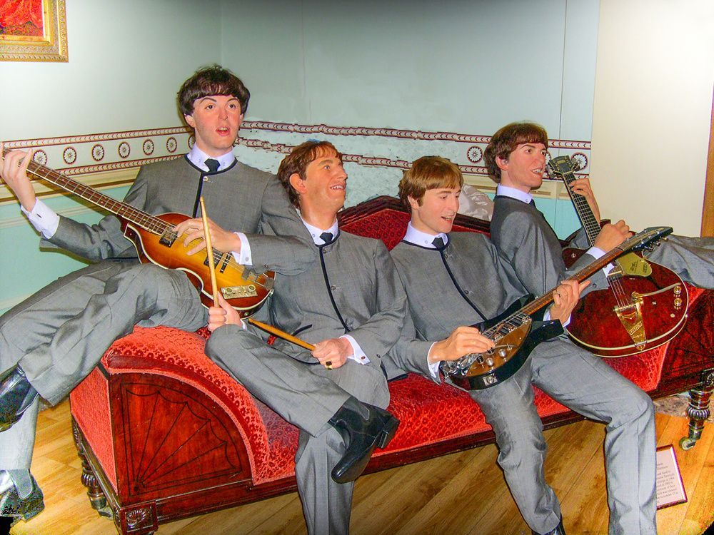 The Beatles music band, Madame Tussauds wax museum - ©Shutterstock - www.shutterstock.com/fr/
