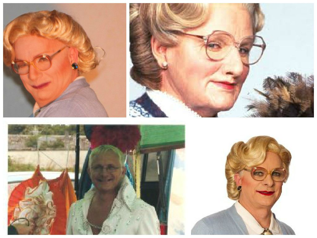 Photo Gyl Les fauxsemblants est Mrs Iphigénie Doubtfire