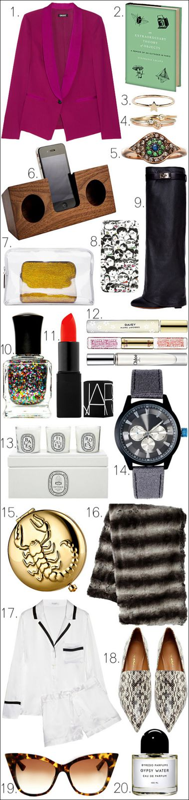 Holiday gift guide latest fashion trends for Best christmas gifts for boyfriend 2012