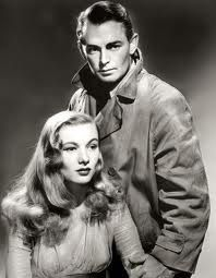 Alan Ladd et Veronica Lake.