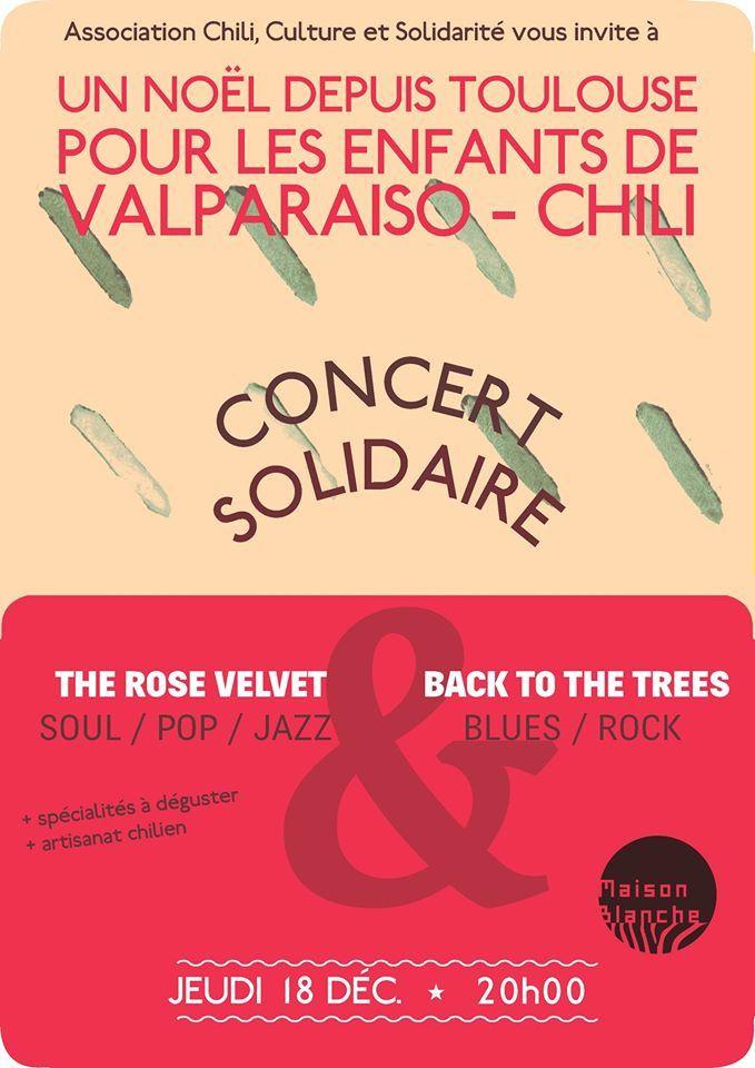 CE NOËL 2014, NOUS SOUTENONS L'ART ET L'EDUCATION AU VALPARAISO-CHILI