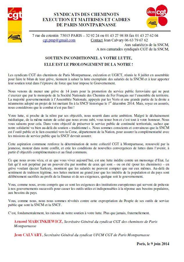 Flibustiers des antichambres et chauffeurs roses ; SNCM-SNCF : les saloperies du PS