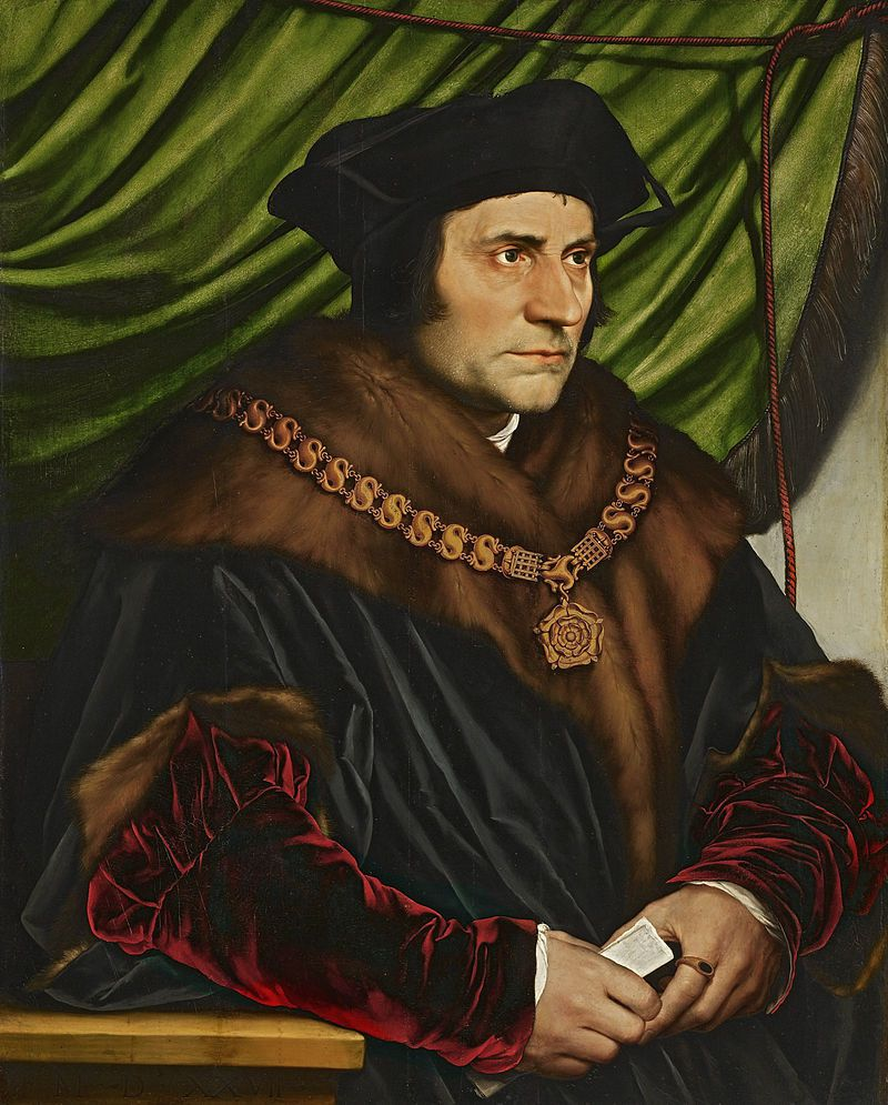 Hans HOLBEIN,  le jeune, sir Thomas MORE