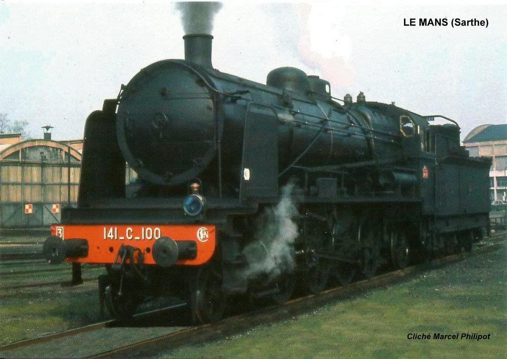 141C type Mikado réseau Etat puis SNCF construite par la Société Alsacienne de Construction Mécanique