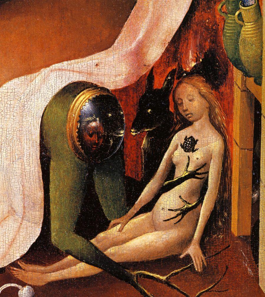 Jérôme Bosch, Le Jardin des Délices, l Enfer, Détail, 1480-1490