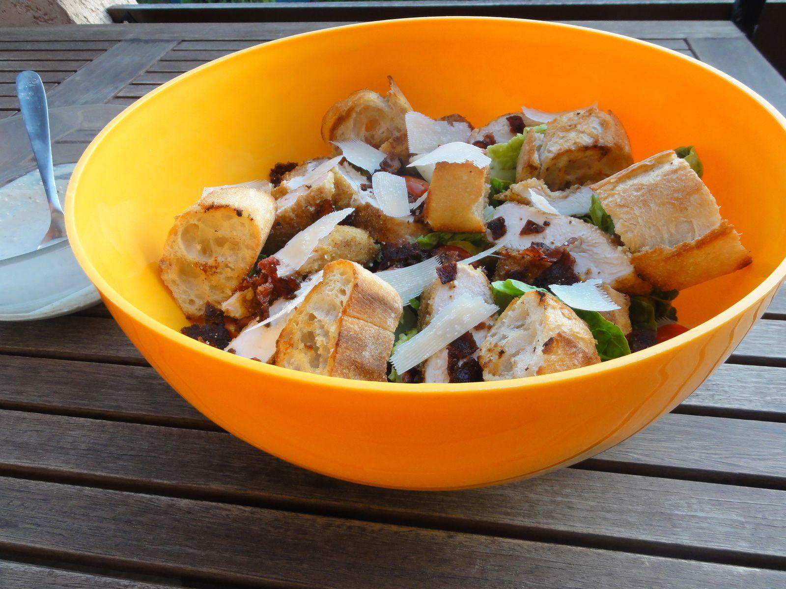 Salade Caesar façon Jamie Oliver