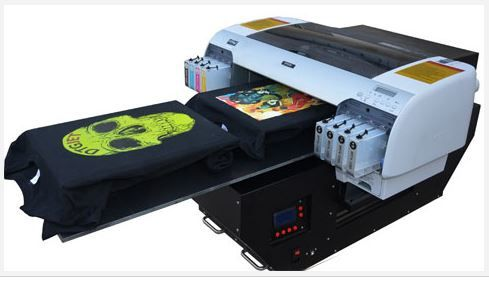 DTG Flatbed T-shirt Printer A2 Full Package