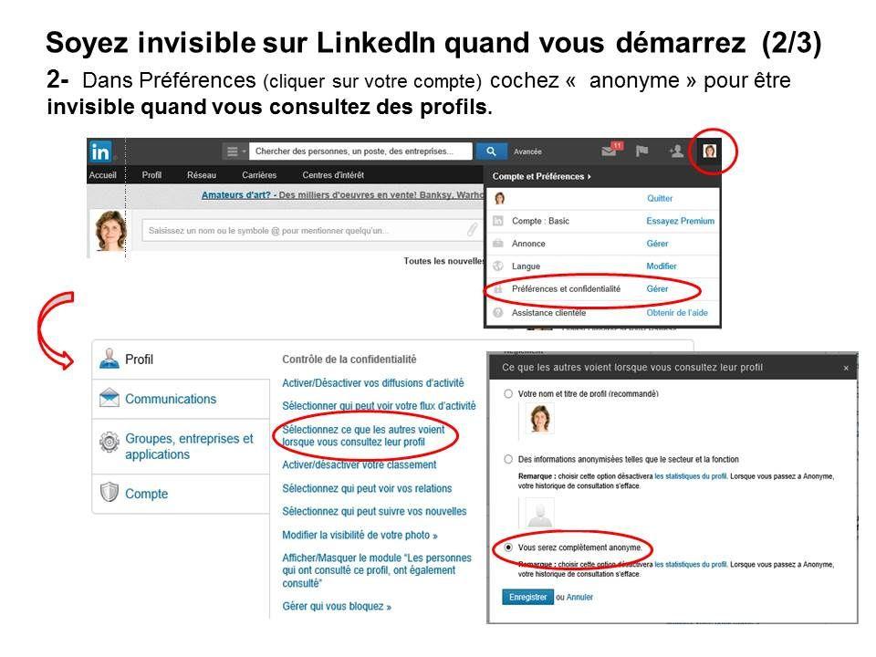 Devenir invisible quand on démarre sur LinkedIn (2/3) - Mère et Fille 2.0