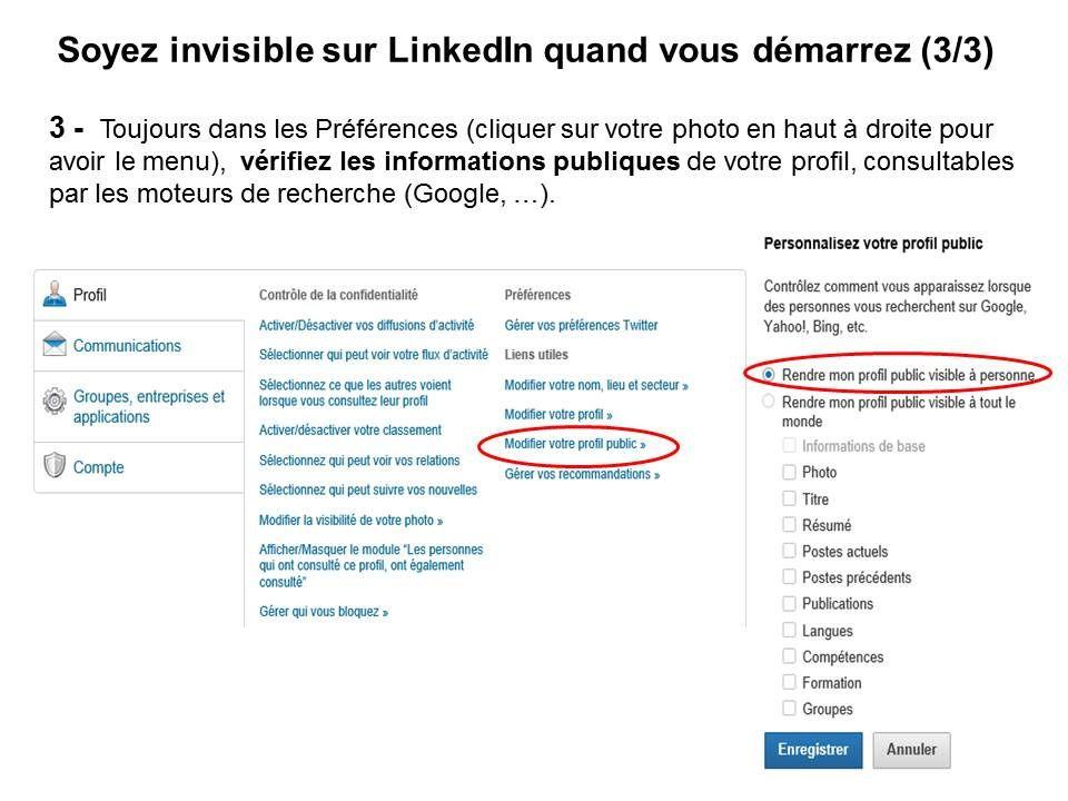 Devenir invisible quand on démarre sur LinkedIn (3/3) - Mère et Fille 2.0 - Sandrine Delage