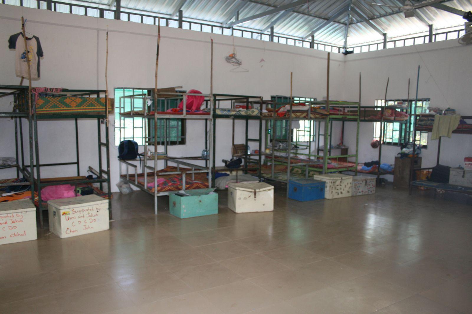 Déménagement de l'orphelinat CPCDO Phnom Penh