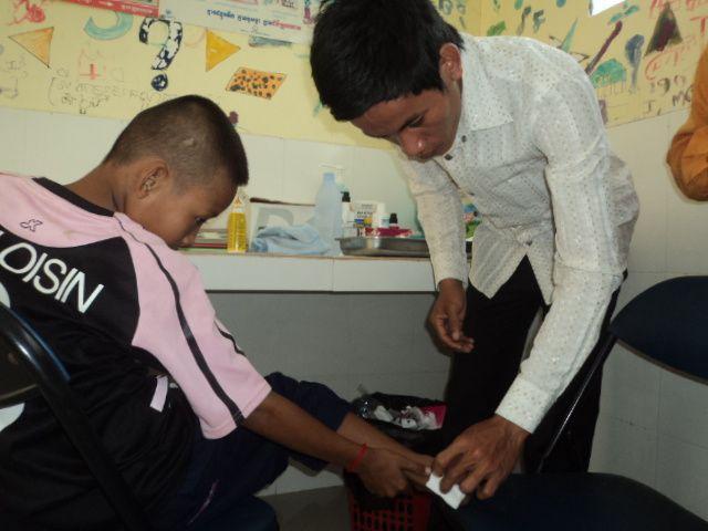 Bienvenue à Sophal, notre nouvel infirmier cambodgien !