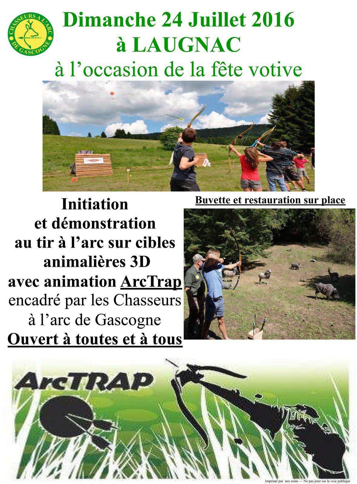 ArcTrap à Laugnac