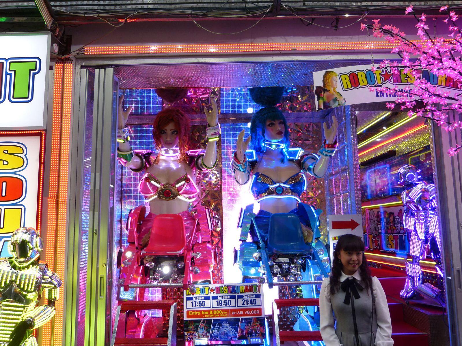 Entrée du Robot Restaurant