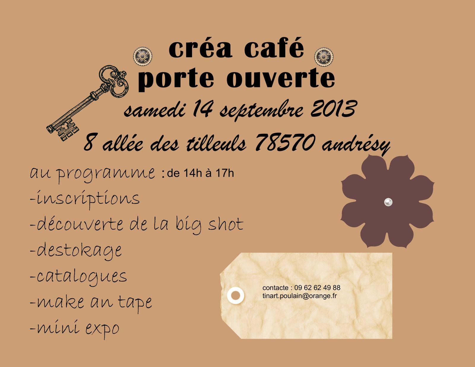 invitation pour septembre créa café