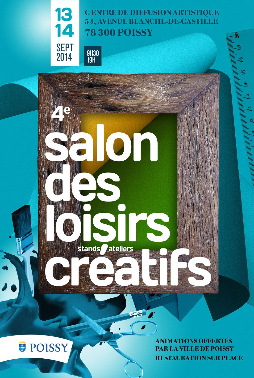 Salon cr atif de poissy 2014 tinart et stampin 39 up for Salon art creatif paris