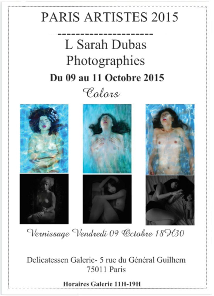EXPOSITION #PARIS ARTISTES 09 &gt&#x3B;11 Oct 2015